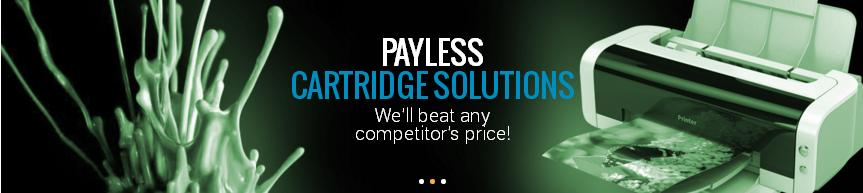 Banner of payless cartridges