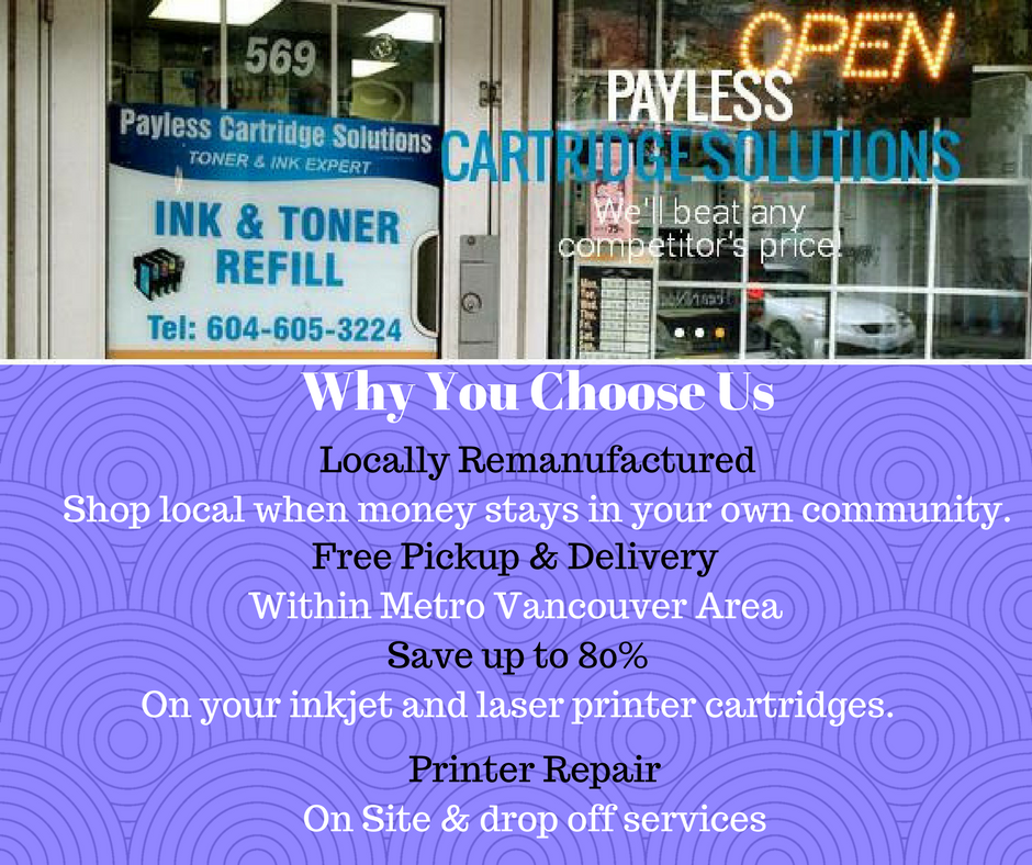 Trusted Ink Cartridges and Printer Repair Shop in Canada
